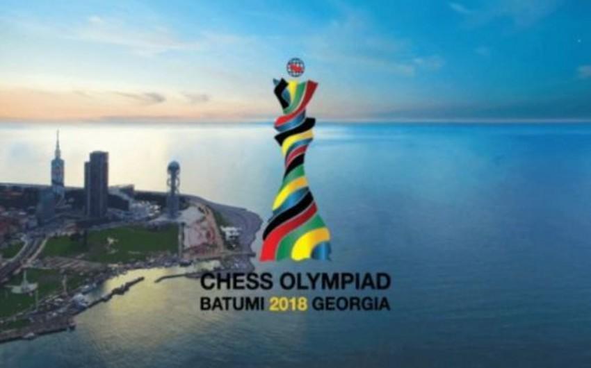 Azərbaycan şahmatçıları Ümumdünya Şahmat Olimpiadasında növbəti görüşünü keçirib