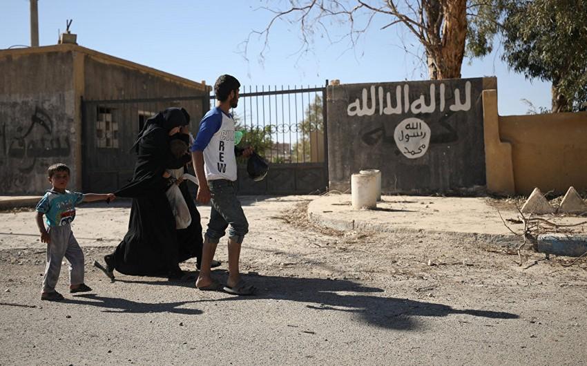İŞİD Suriyada 36 qadın və uşağı qaçırıb