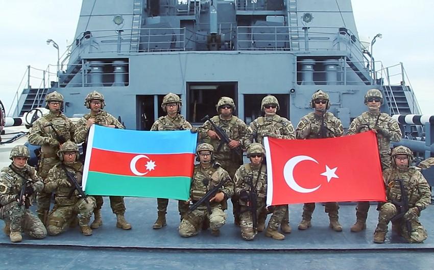 Azərbaycan və Türkiyə xüsusi təyinatlıları gəmini şərti terrorçulardan azad edib