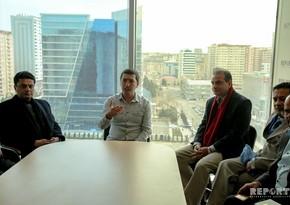 Chief editors of leading Pakistani media visit Report