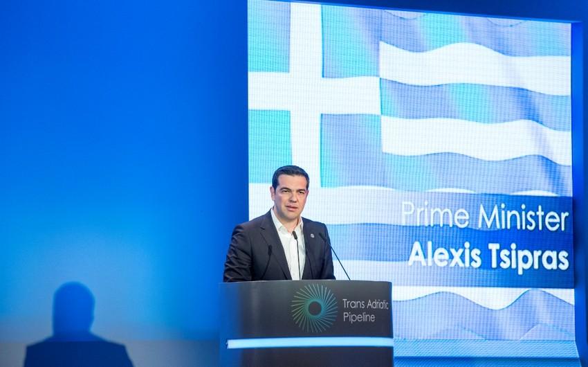 Aleksis Tsipras: TAP Yunanıstan üçün xüsusi əhəmiyyətə malikdir