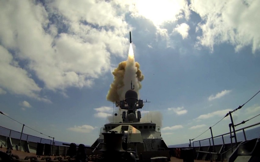 Russian warships, sub launch cruise missiles at Daesh targets in Syria