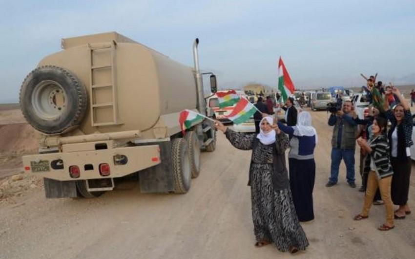 İraqdan olan kürd döyüşçülərin bir qismi Kobaniyə daxil olub