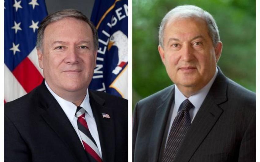 Ermənistan prezidenti ABŞ-da işgüzar səfərdədir