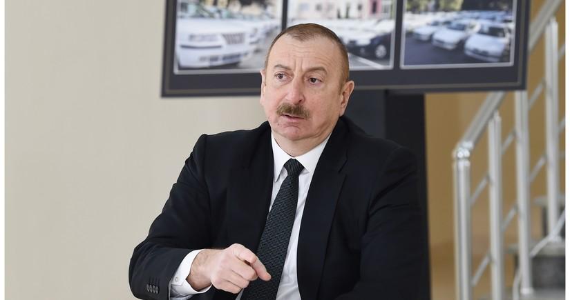 Ильхам Алиев: Смотрите, в каком Армения сейчас состоянии