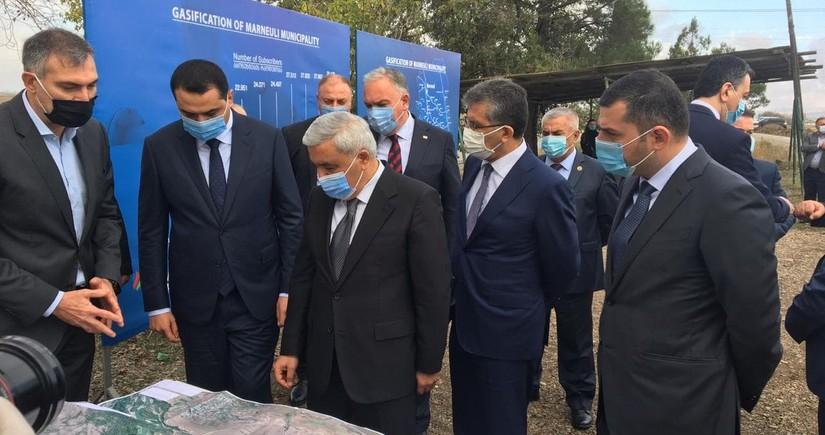 SOCAR приступила к строительству новой газораспределительной сети в Грузии