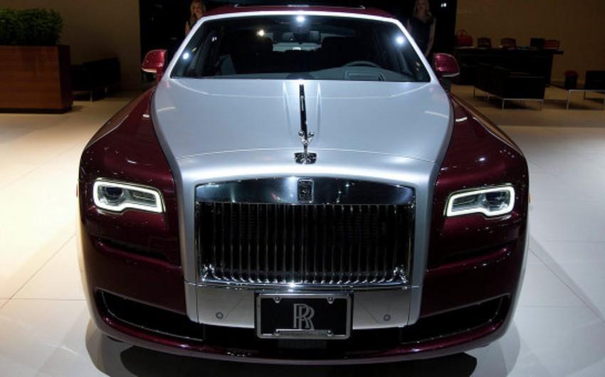 Azərbaycanda Rolls-Royce avtomobillərinin satışı artıb