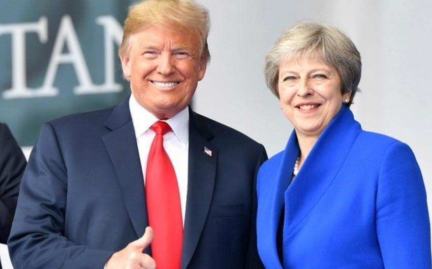 Donald Tramp iyun ayında Britaniyaya səfər edəcək