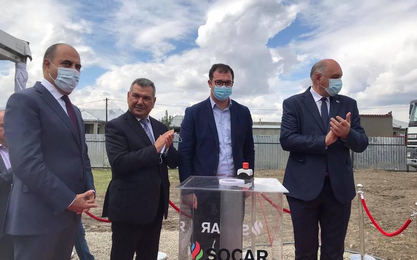 SOCAR Gürcüstanda soydaşlarımız üçün daha bir bağça tikdirir