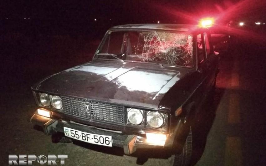 Bərdədə orta yaşlı kişini maşın vuraraq öldürüb - VİDEO - YENİLƏNİB
