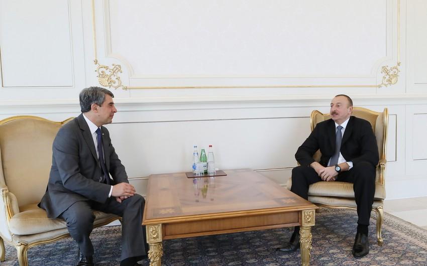 """Prezident İlham Əliyev: """"Azərbaycanla Bolqarıstan arasında əlaqələr yüksək səviyyədədir"""" - YENİLƏNİB"""