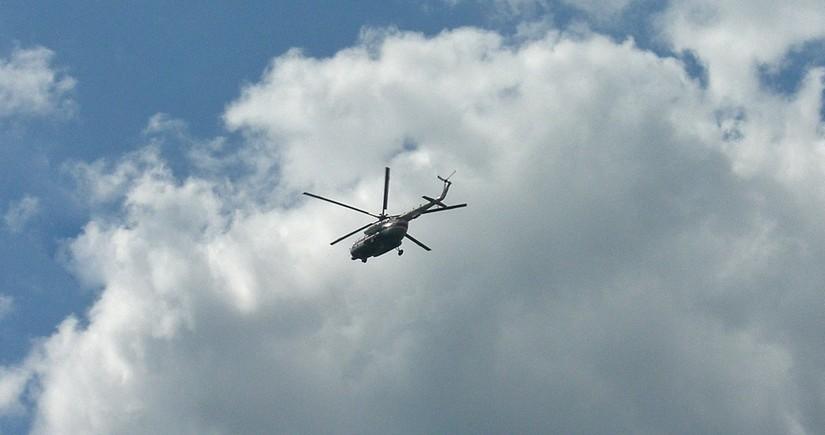 Rusiyada helikopter qəzaya uğrayıb, bir nəfər itkin düşüb