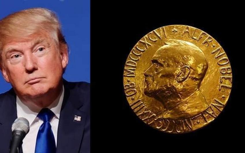 ABŞ konqresmenləri Trampa Nobel Sülh Mükafatı verilməsini təklif ediblər