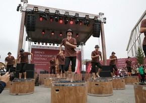 Şamaxıda I Azərbaycan Üzüm və Şərab Festivalının açılışı olub