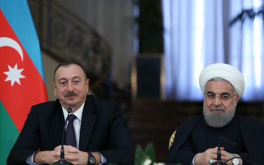 Həsən Ruhani Prezident İlham Əliyevi təbrik edib