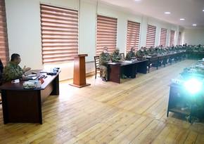Zakir Hasanov heard reports on progress of exercises
