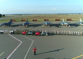 Turkish Air Force's F-16 fighters arrive in Azerbaijan