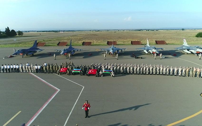 Turkish Air Force's F-16 fighters arrive in Azerbaijan