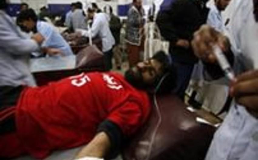 Pakistanda stadionda partlayış nəticəsində 3 futbolçu ölüb