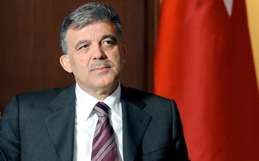 Абдуллах Гюль: Мы очень рады победе Азербайджана в Отечественной войне