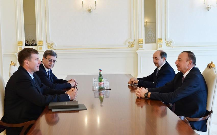 Prezident İlham Əliyev Rusiyanın ədliyyə nazirini qəbul edib