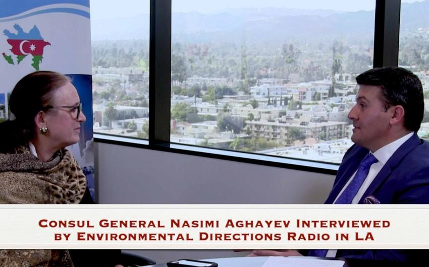 Los-Anceles radiosunda Xocalı həqiqətlərindən danışılıb - VİDEO