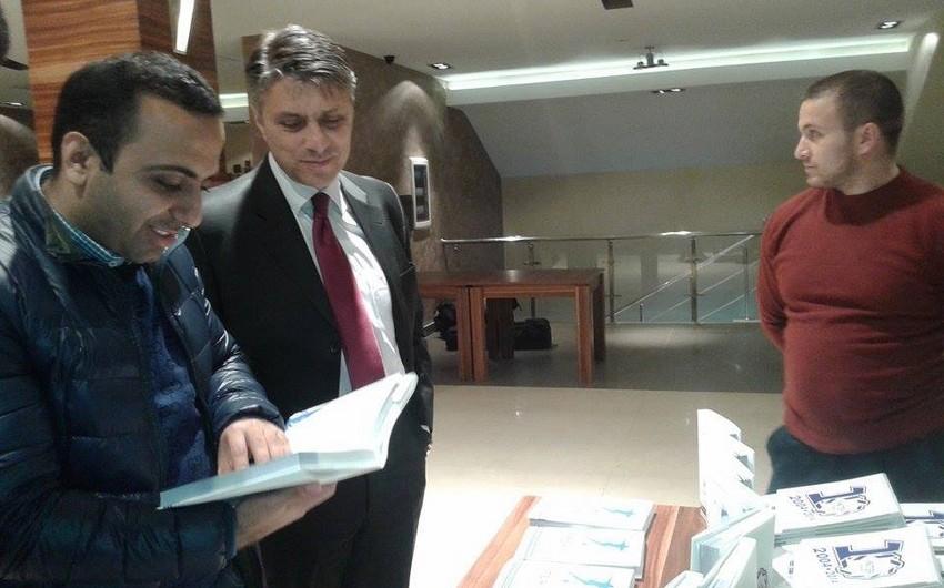 Bakının İnter klubu barədə kitabın təqdimatı keçirilib