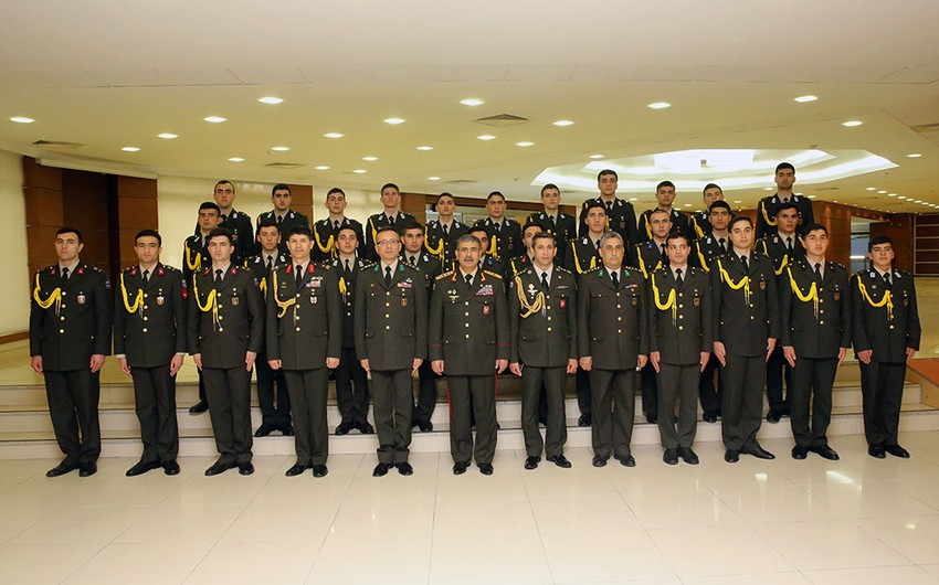 Azerbaijan Defence Minister visits Turkish Military Academy