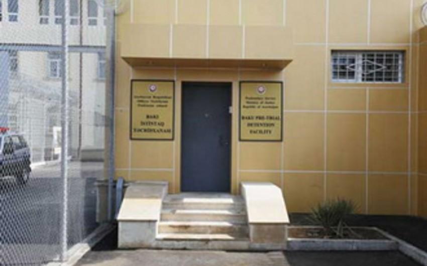 Ombudsmanın nümayəndələriBakı İstintaq Təcridxanasına baş çəkib