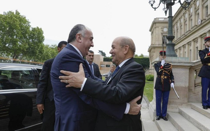 Foreign Ministers of Azerbaijan and France discussed Karabakh settlement