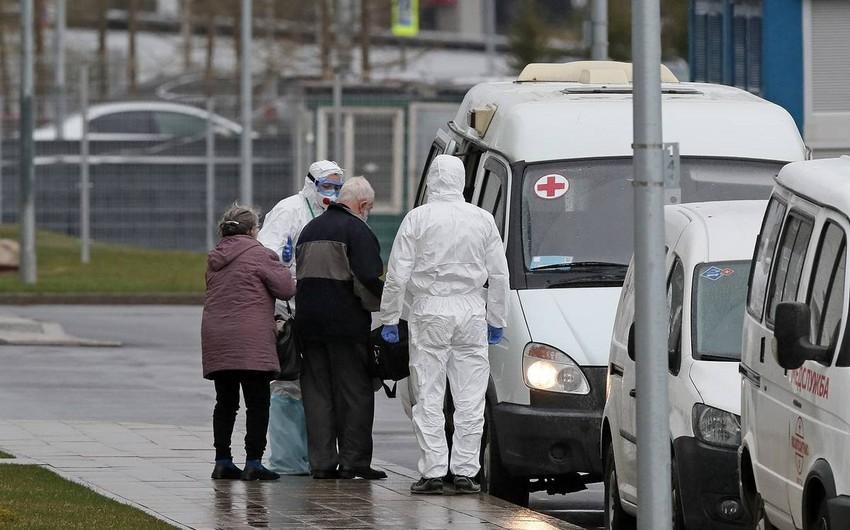 Moskvada bir gündə virusdan ölənlərin sayı yenidən 70 nəfəri ötdü