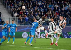 Лига Чемпионов: «Зенит» на своем поле уступил «Ювентусу»