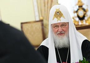 """Patriarx Kirill: """"Azərbaycan və Ermənistan liderlərinin bugünkü dialoqu hamı üçün nümunəvi olacaq"""""""