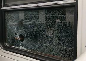 İrəvan-Gümrü qatarı daşa basılıb