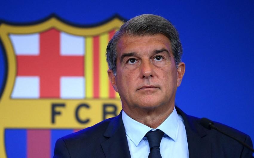 Barselonanın prezidenti azarkeşlərdən üzr istəyib