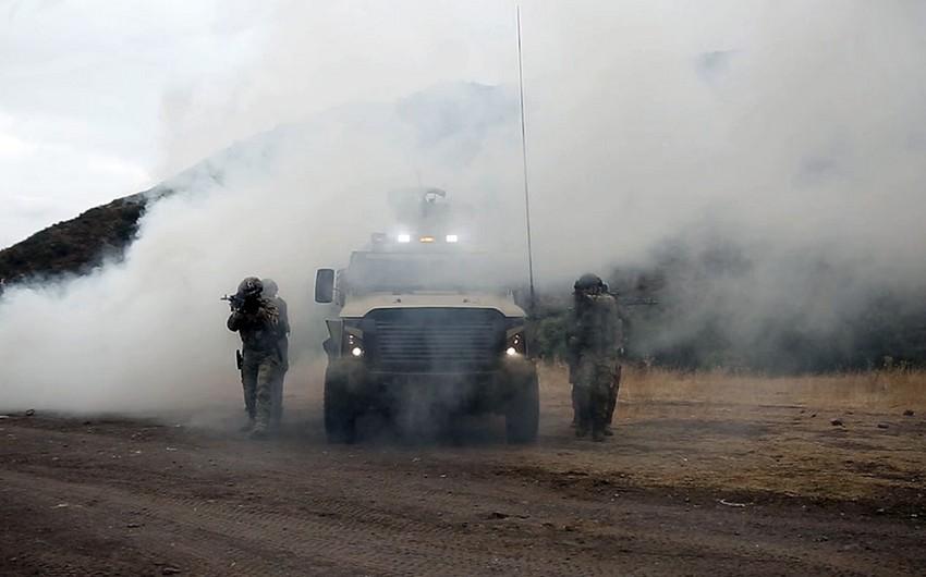 Joint Azerbaijani-Turkish exercises end in Lachin