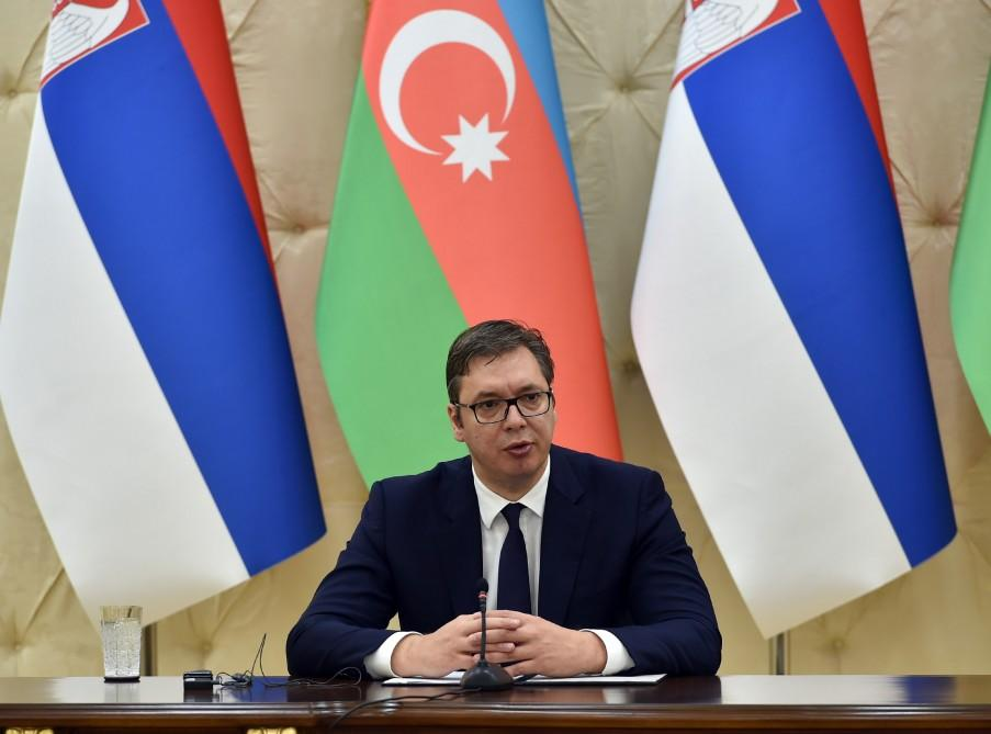 Serbian President: We support the independence and sovereignty of Azerbaijan