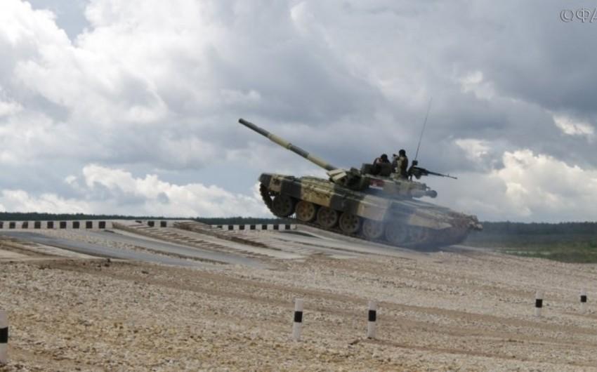 Azerbaijan's rivals at Tank Biathlon of Int'l Army Games 2017 identified