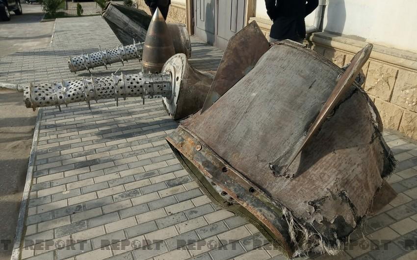 ANAMA: В Шушу была сброшена ракета Искандер-М