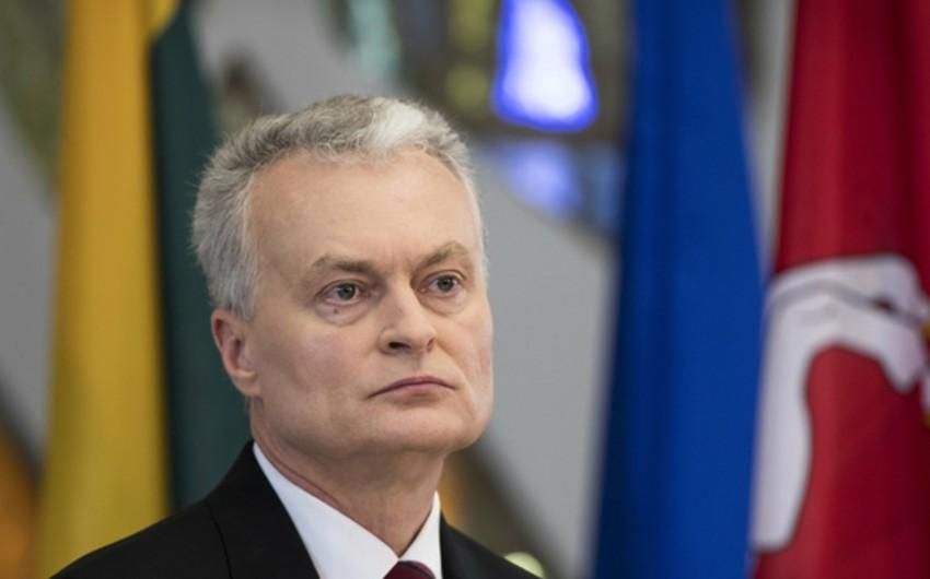 Президент Литвы самоизолируется