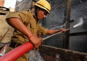 В Индии в больнице произошел пожар, есть жертвы