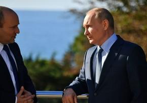 Meeting between Putin and Bennett lasts five hours