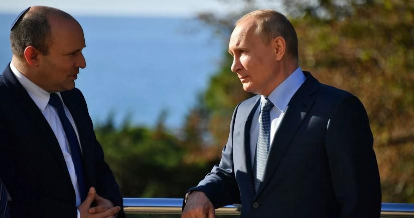 Vladimir Putinlə İsrailin Baş nazirinin görüşü beş saatdan çox çəkib
