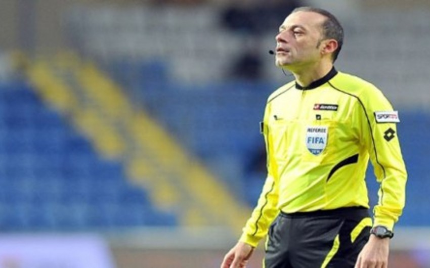Turkish referee Cuneyt Cakir appointed for his first match at Euro 2016