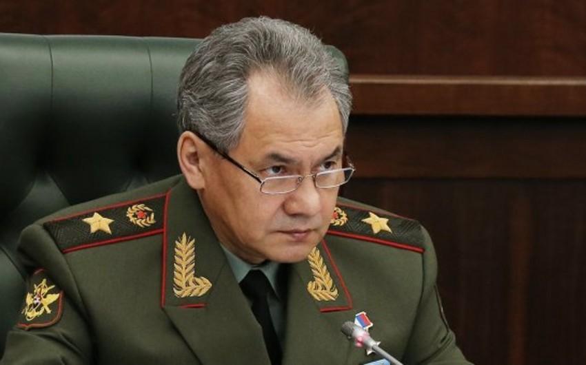 Rusiyanın müdafiə naziri Azərbaycan və Ermənistanın müdafiə nazirləri ilə telefonla danışıb