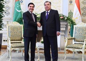 Туркменистан и Таджикистан подписали более 20 документов