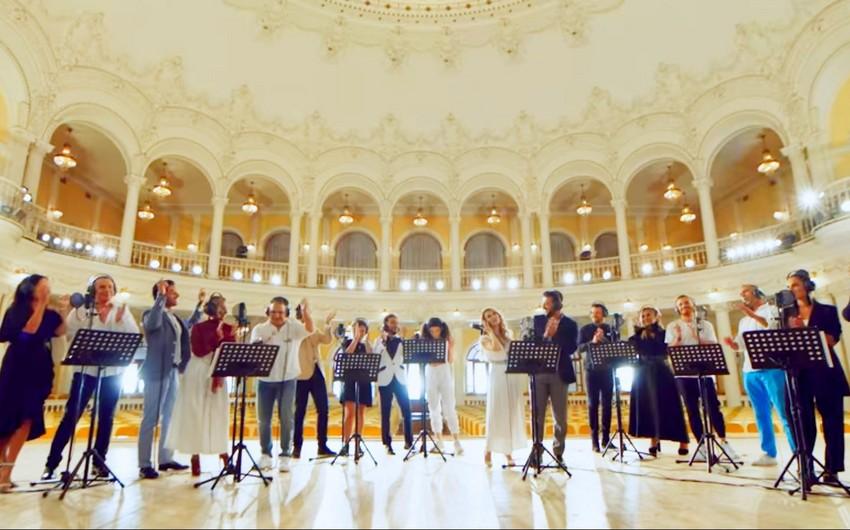 EMIN объединил 28 исполнителей песней об Азербайджане - ВИДЕО