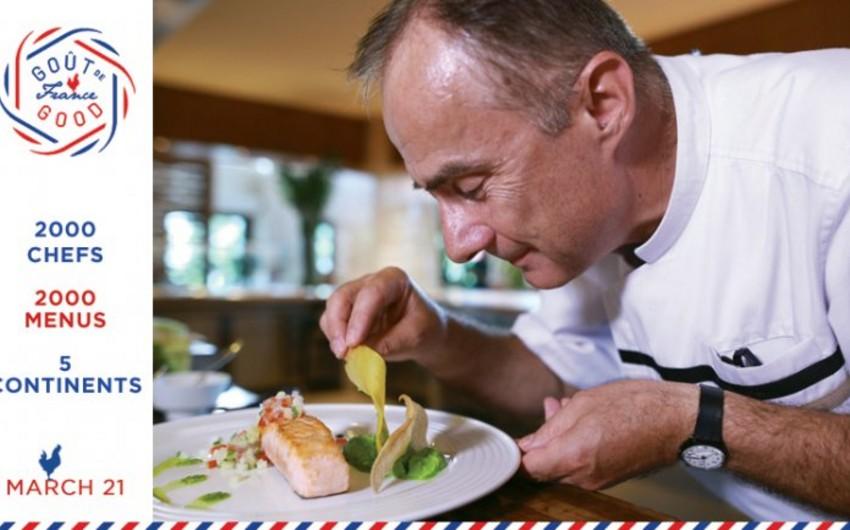 Days of French gastronomy start in Baku