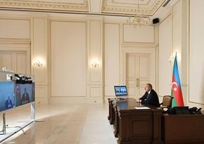 Президент в видеоформате принял новых глав ИВ Джалилабада и Шамкира