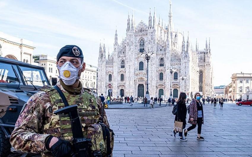İtaliyada pandemiya qurbanlarının sayı 28 mini ötdü